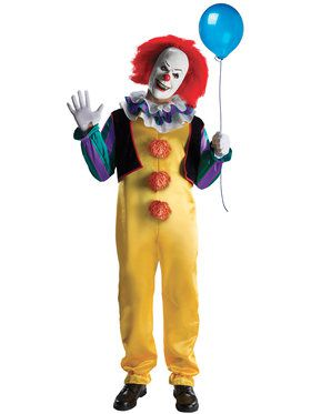 Deluxe Pennywise IT Stephen King Costume
