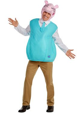 Peppa Pig - Daddy Pig Classic Adult Costume