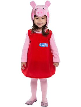 Peppa Pig Dress Costume Toddler