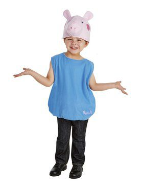Peppa Pig - George Toddler Costume for Halloween