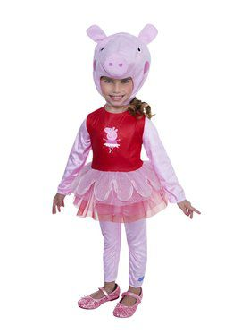 Peppa Pig - Peppa Pig Ballerina Child Costume