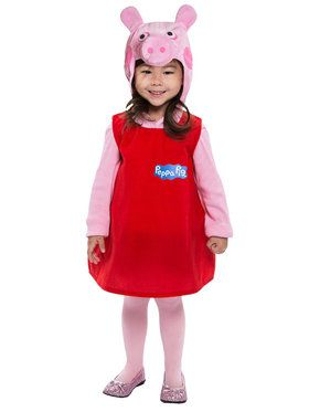 Peppa Pig Dress For Toddlers