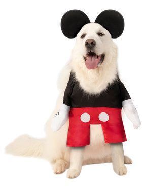 Pet Big Dogs Mickey Mouse Costume