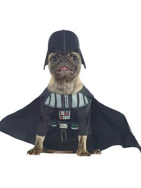 Pet Darth Vader Costume