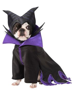 Pet Disney Villians Maleficent Costume