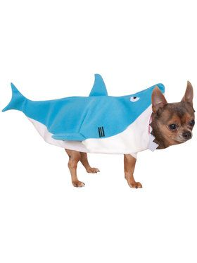 Pet Shark Jumpsuit Costume