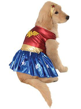 Pet Wonder Woman Costume