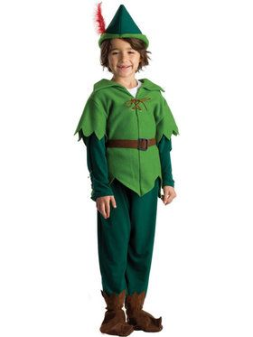 Peter Pan Boy's Costume