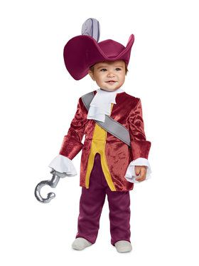 Classic Captain Hook from Peter Pan Costume for Infants