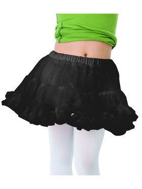Child Black Petticoat Costume