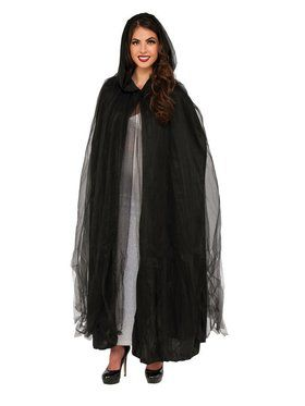 Phantom Women's Black Cape