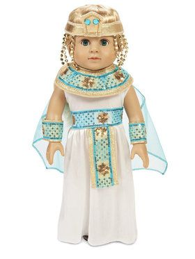 "Pharoah's Princess 18"" Doll Costume"
