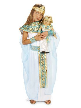 "Pharoah's Princess Child Costume M (8-10) with Matching 18"" Doll Costume"