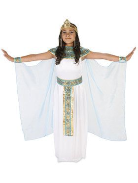Pharoah's Princess Child Costume Treat Safety Kit