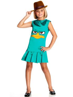 Phineas and Ferb's Sassy Agent P Costume