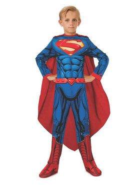 Kid's Superman Jumpsuit Costume