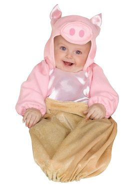 Pig in a Blanket Costume For Babies