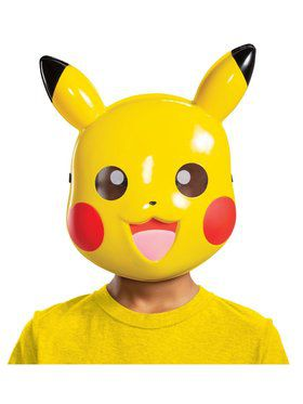Pikachu mask child