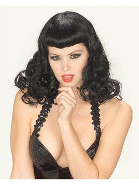 Pin Up Girl Wig Adult