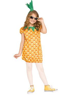 Girls Pineapple Cutie Costume