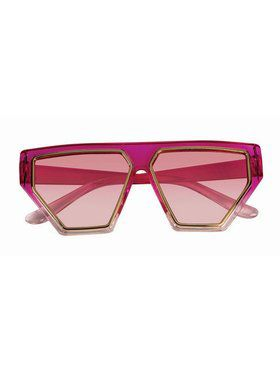 Adult Pink 80's Glasses