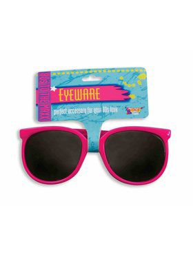 Pink 80s Glasses