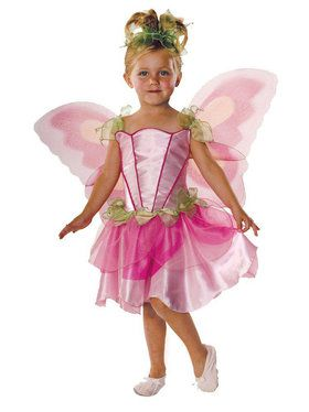 Pink Butterfly Fairy Costume For Children