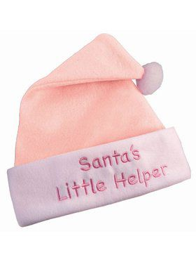 Pink Christmas Hat Accessory