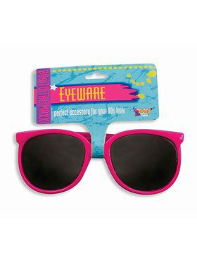 Pink Eighties Glasses