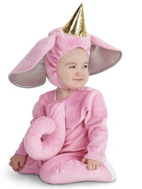 Pink Elephant Infant Costume for Halloween