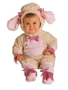 Pink Lamb Newborn/infant Costume