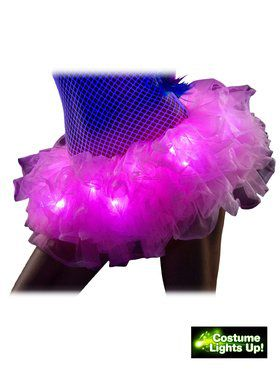 Pink Light Up Tutu Adult