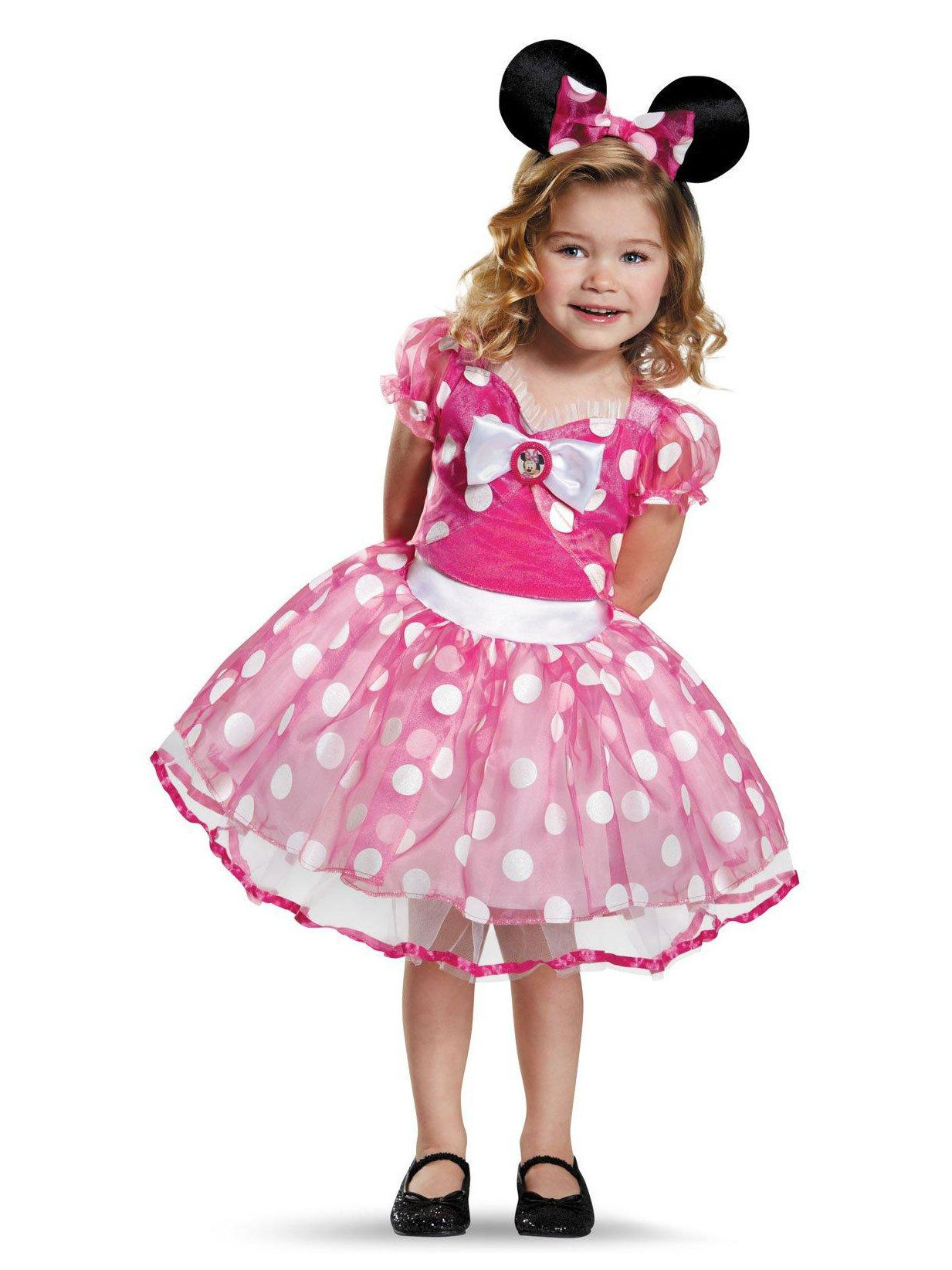 Pink Minnie Mouse Deluxe Tutu Costume For Toddlers  sc 1 st  Wholesale Halloween Costumes & Pink Minnie Mouse Deluxe Tutu Costume For Toddlers | Wholesale ...
