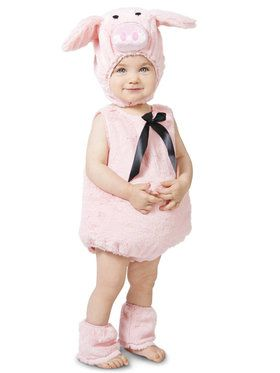 Pink Piglet Costume For Toddlers