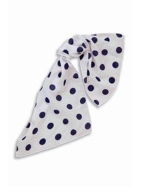 Pink Polka Dot Scarf Accessory