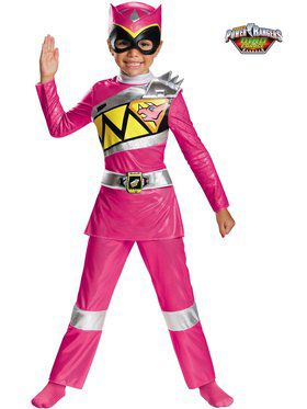Pink Ranger Dino Charge Deluxe Toddler Costume Toddler