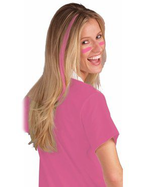 Pink Reusable Hair Extensions