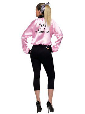 Pink Satin Lady Jacket