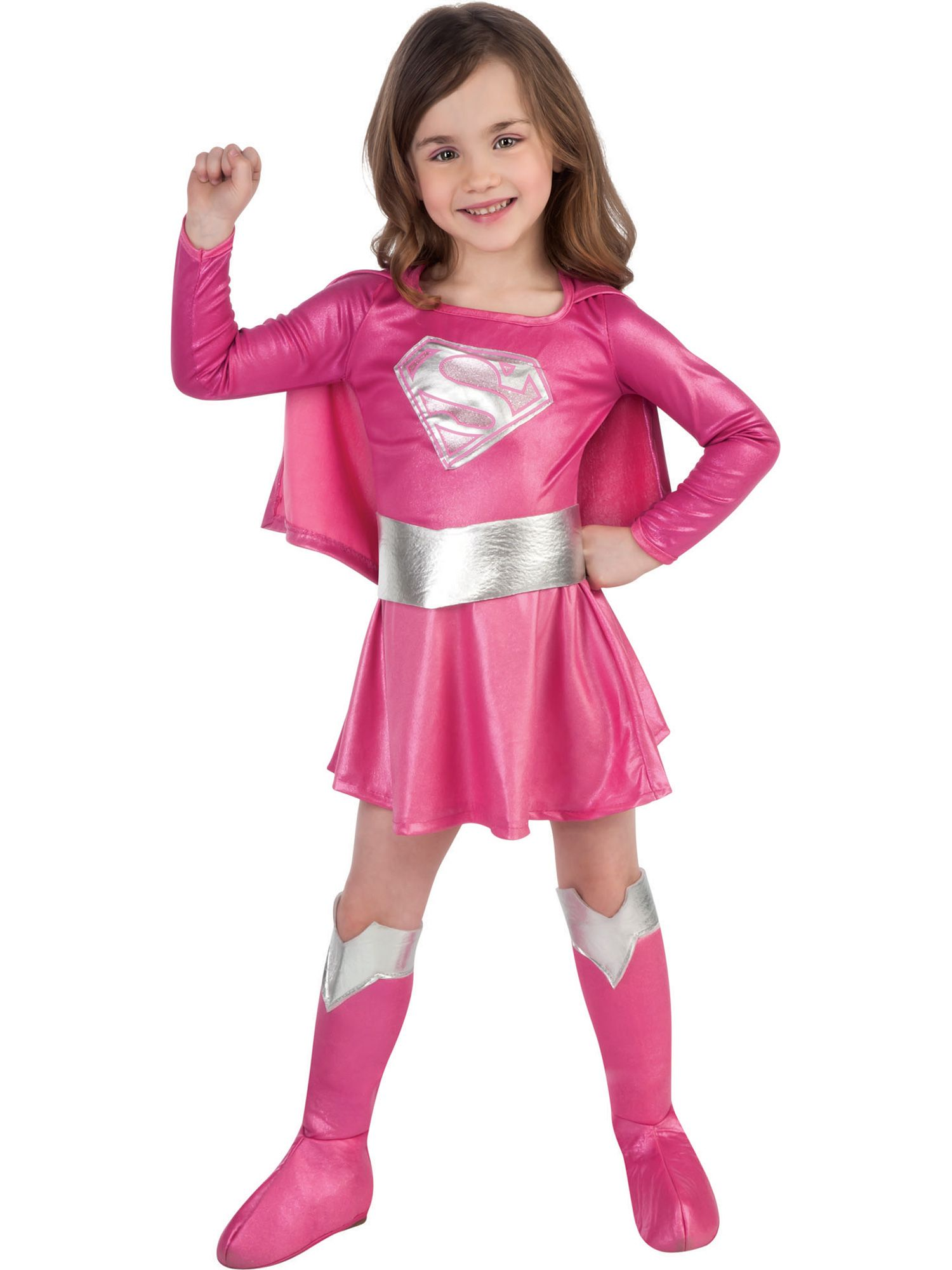 Rubie's Toddler's Pink Supergirl Costume