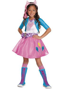 Pinkie Pie Equestria Deluxe Girls Costume