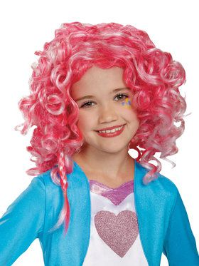 Pinkie Pie Equestria Wig for Girls