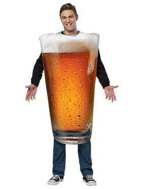 Pint Glass Costume For Adults