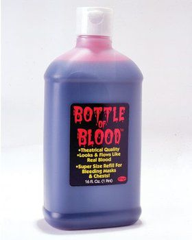 Pint of Plasma In Bottle
