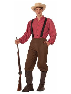 Pioneer Man Costume for Adults