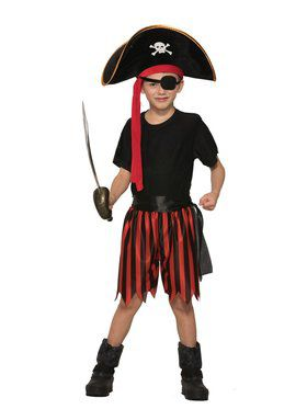 Pirate Dress Up Kit for Boys