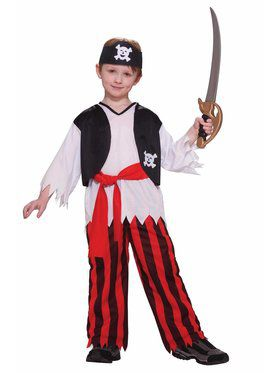 Pirate Boy's Costume