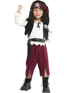 Pirate Captain Child Costume