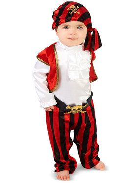 Pirate Captain Costume For Babies
