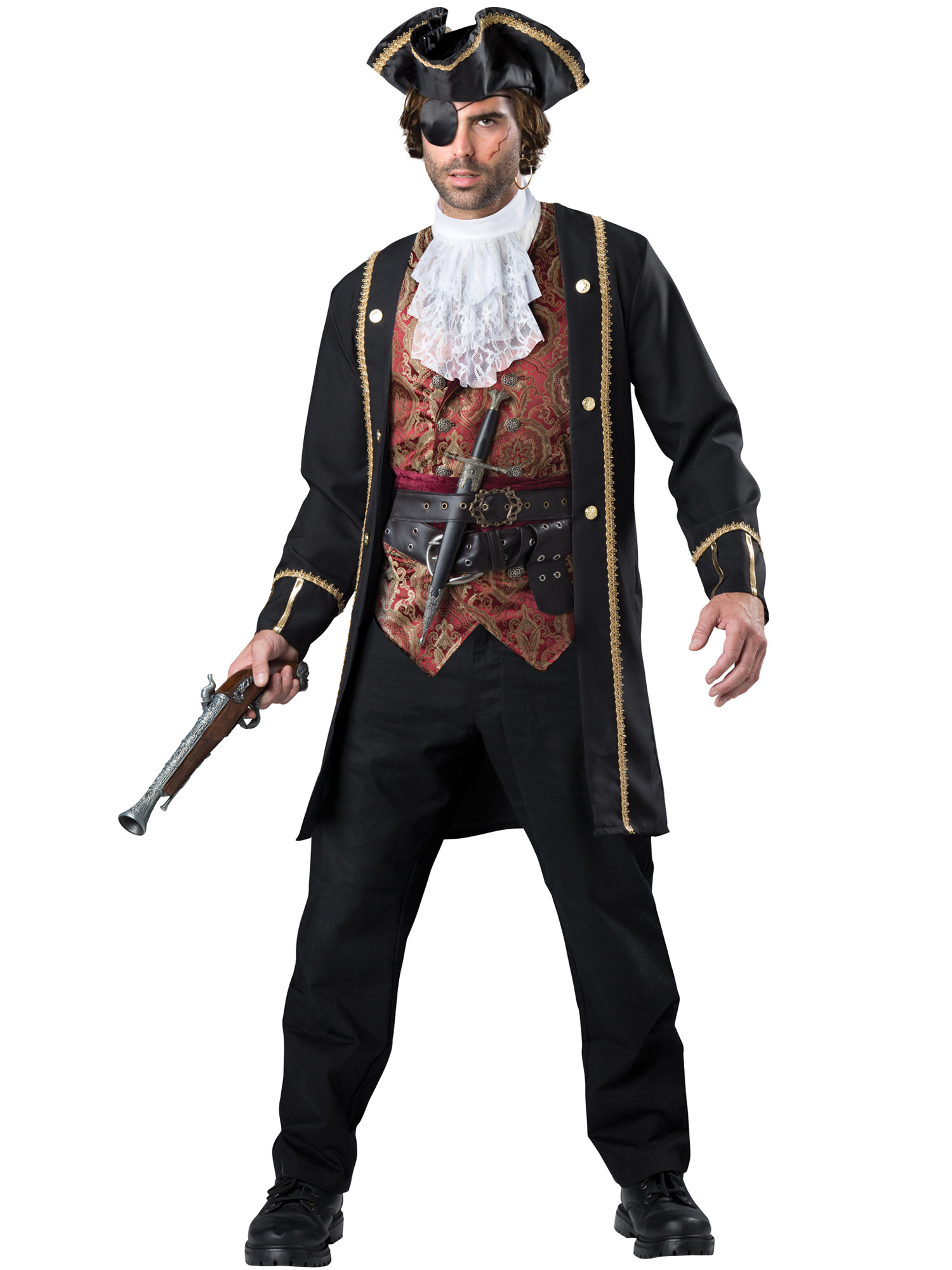 Adult Pirate Captain Costume IC11096-L