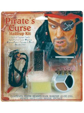 Pirate Character Makeup Kit